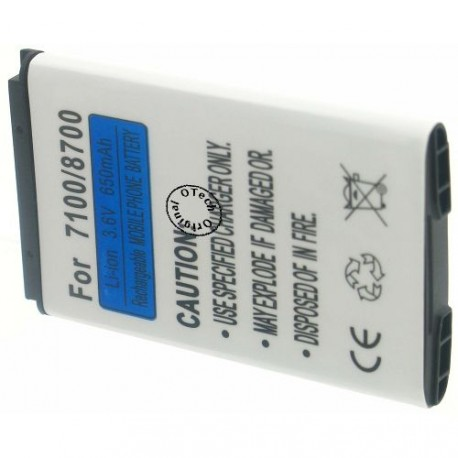 Batterie pour BLACKBERRY 8700 3.7V Li-Ion 1200mAh
