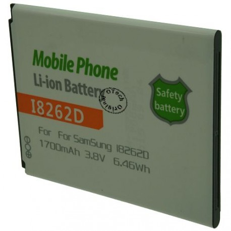 Batterie pour SAMSUNG I8262D 3.7V Li-Ion 1700mAh