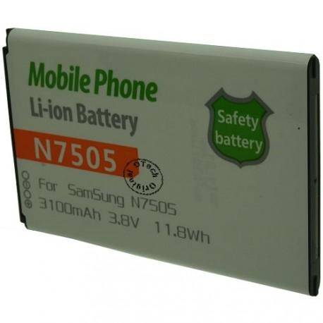 Batterie pour SAMSUNG N7505 3.7V Li-Ion 3100mAh