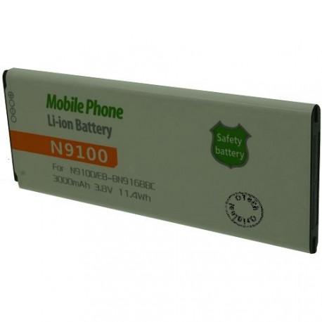 Batterie pour SAMSUNG N9108V 3.8V Li-Ion 3200mAh