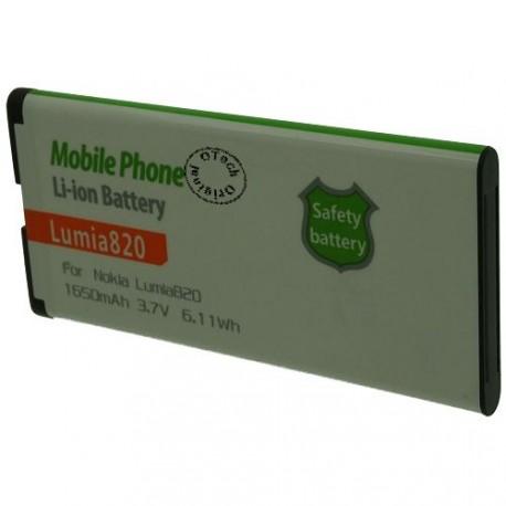 Batterie pour NOKIA Lumia820 3.7V Li-Ion 1650mAh