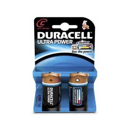 2 Piles LR14 C 1.5V ULTRA POWER DURACELL