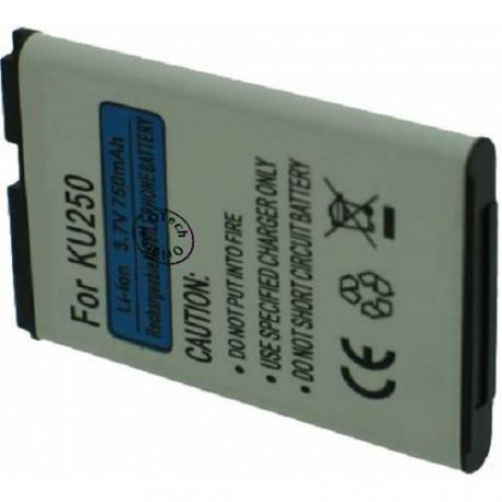 Batterie pour LG KP100 3.7V Li-Ion 950mAh