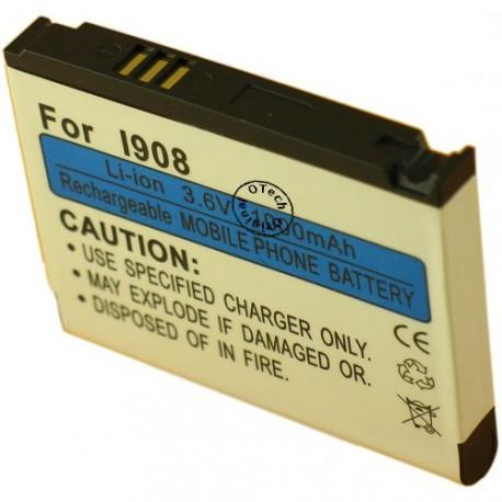 Batterie pour SAMSUNG I900 / OMNIA I8000 / AB653850CU 3.7V Li-Ion 1380mAh