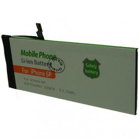 Batterie pour iPhone 6P 3.7V Li-Ion 2915mAh sans outils
