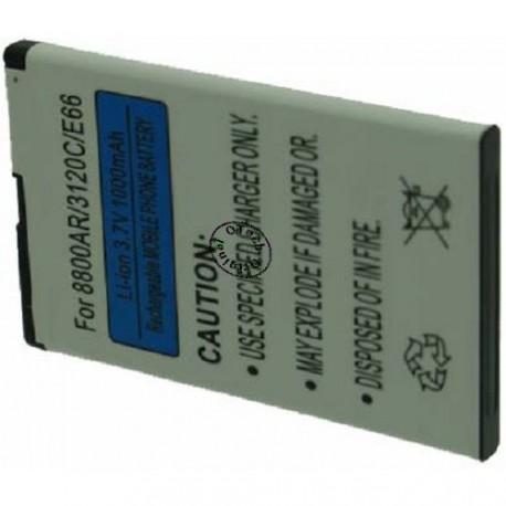 Batterie pour NOKIA BL-4U 3.7V Li-Ion 1120mAh
