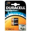 2 Piles photo CR2 3V DURACELL Ultra Photo