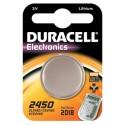 Pile bouton CR2450 Lithium 3V DURACELL