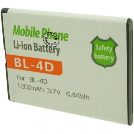 Batterie pour NOKIA BL-4D 3.7V 1200mAh