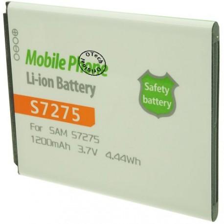 Batterie pour SAMSUNG S7275 3.7V 1200mAh