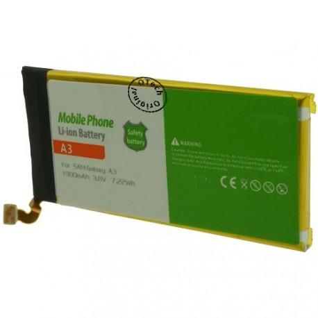 Batterie pour SAMSUNG GALAXY A3 3.8V Li-Ion 1900mAh