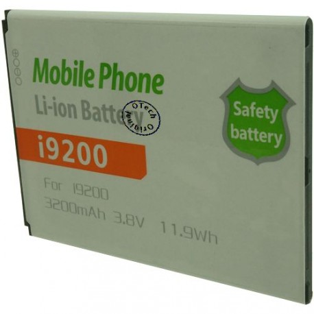 Batterie pour SAMSUNG i9200 3.8V Li-Ion 3200mAh