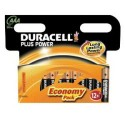 12 Piles AAA LR03 Alcaline 1.5V DURACELL Plus Power