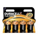 4 Piles LR20 D Alcaline 1.5V DURACELL Plus Power