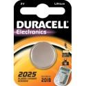 Pile bouton CR2025 Lithium 3V DURACELL
