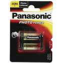 Pile Photo 2CR5 Lithium 6V Panasonic
