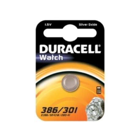 Pile SR43 386 301 Oxyde d'argent DURACELL
