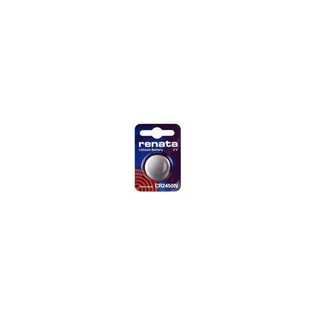 Pile bouton CR2450N Lithium RENATA