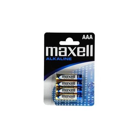 4 Piles AAA LR03 Alcaline 1.5V MAXELL