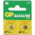 2 piles bouton LR620 ( 164 ) ALCALINE