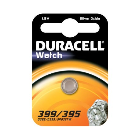 Pile SR57 399 395 Oxyde d'argent DURACELL