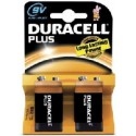 Pile 6LR61 - pile 9V Piles Duracell Plus par 2