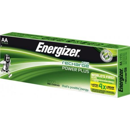 Boite de 10 accus AA 2000mAh préchargés ENERGIZER