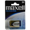 Pile 6LF22 - pile 9V MAXELL Alcaline - pile 6LR61 - LR22