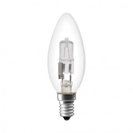 Ampoule flamme halogene eco 18W culot E14