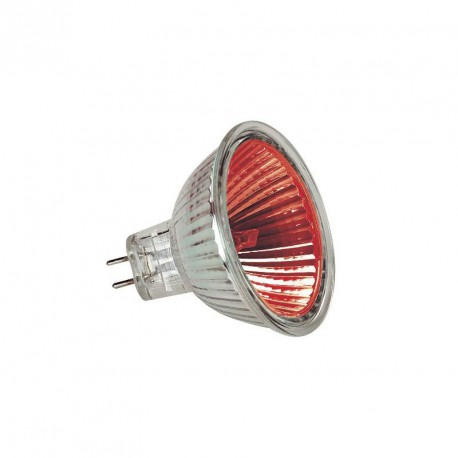 Ampoule Halogène Dichro GU5.3 20W ROUGE