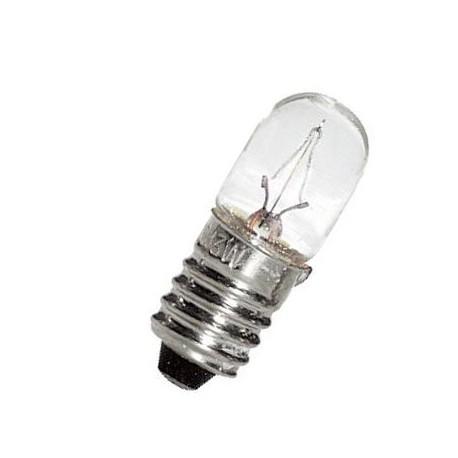 Ampoule E10 T10x28 12V 250mA 3W de signalisation