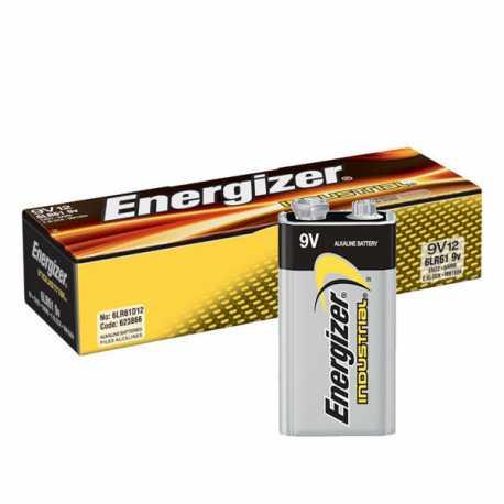 Boite de 12 piles 9V 6LR61 Energizer