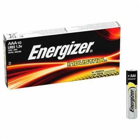 Boite de 10 piles AAA LR3 E92 Energizer