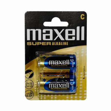 2 Piles LR14 C Super Alcaline MAXELL 1,5V