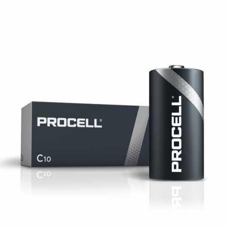 Boite de 10 piles C LR14 Alcaline DURACELL Industrial Procell