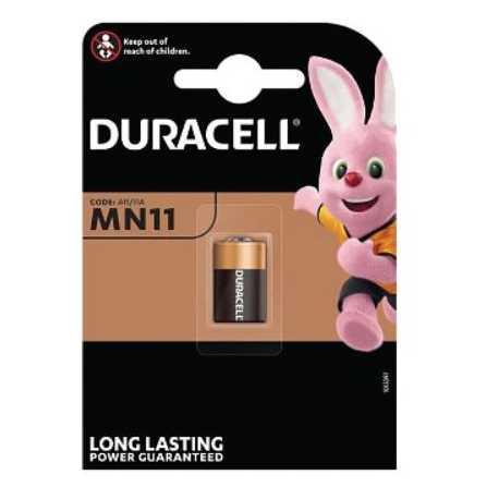 Pile MN11 11A DURACELL Alcaline 6V