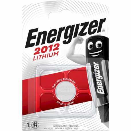 Pile bouton CR2012 Energizer 3V Lithium