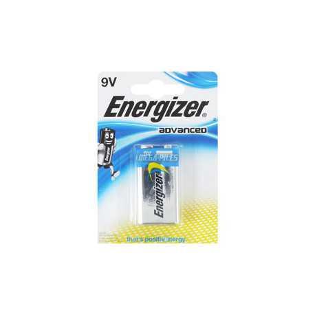 Pile 9V 6LR61 Energizer ADVANCED Alcaline