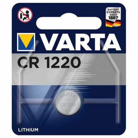 Pile bouton CR1220 Varta 3V Lithium