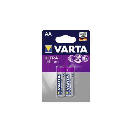 2 piles AA LR6 Varta 1,5V Lithium