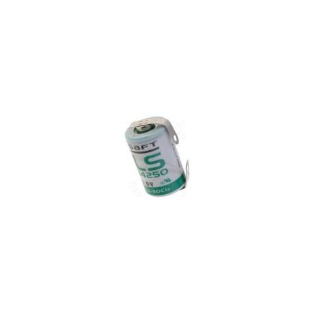 Pile LS14250CNR sortie languettes à souder 3,6V