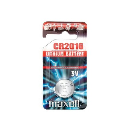 Pile bouton CR2016 Lithium 3V MAXELL