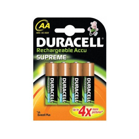 4 Accus AA 2400 DURACELL SUPREME