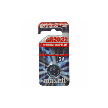 Pile bouton CR2032 Lithium 3V MAXELL