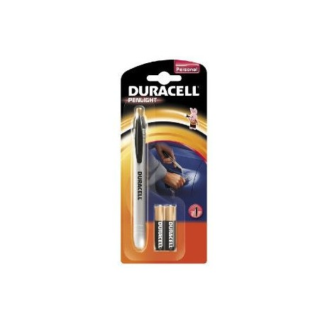 Lampe crayon Duracell Penlight led + 2 piles AAA