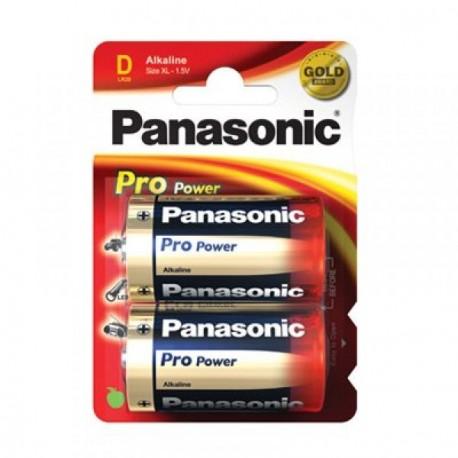 2 Piles D 1.5V Pro Power PANASONIC