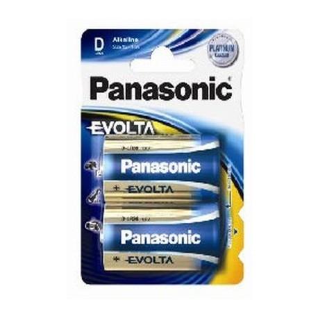 2 Piles D 1,5V EVOLTA PANASONIC