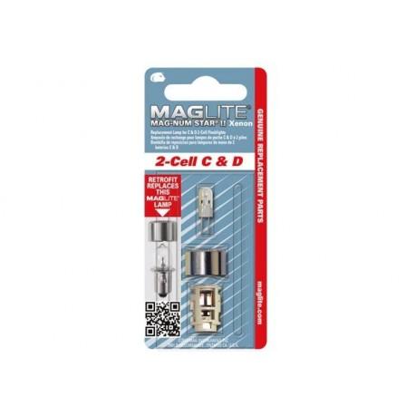 Ampoule Xenon de remplacement pour MAGLITE ML2/LCL2