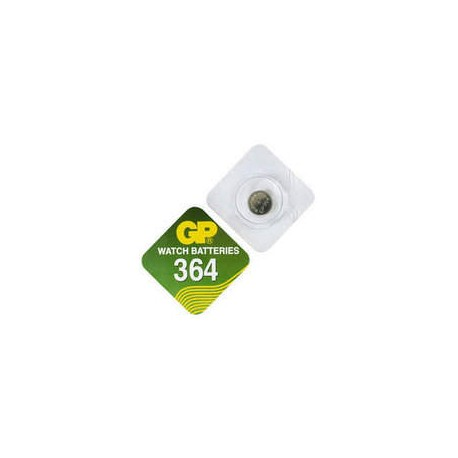 Pile bouton SR60 364 Oxyde d'argent