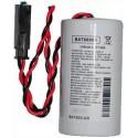 Pile BAT80009 LiSoCl2 3.6V 13Ah pour alarme ELKRON SENTINEL